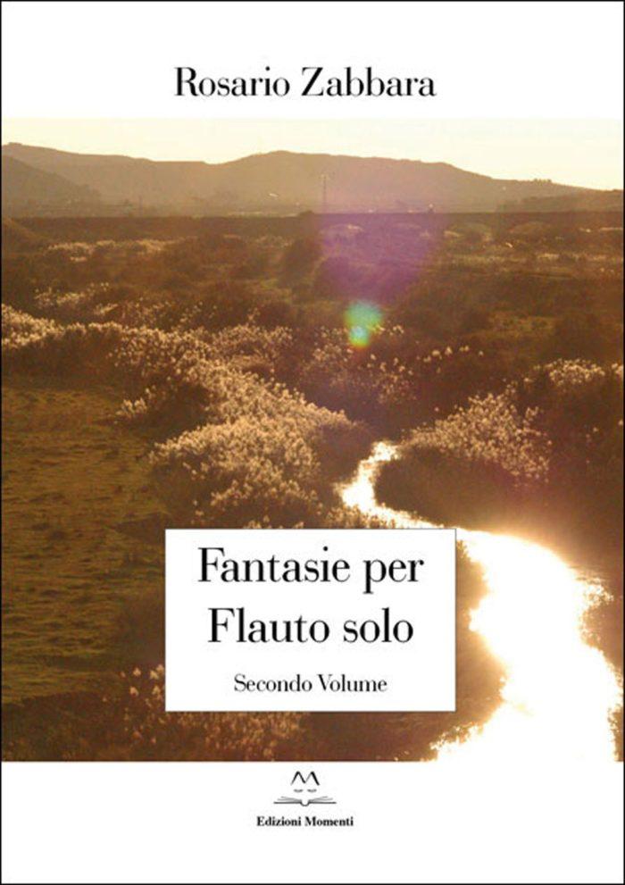 Fantasie per flauto solo (vol.2) di Rosario Zabbara