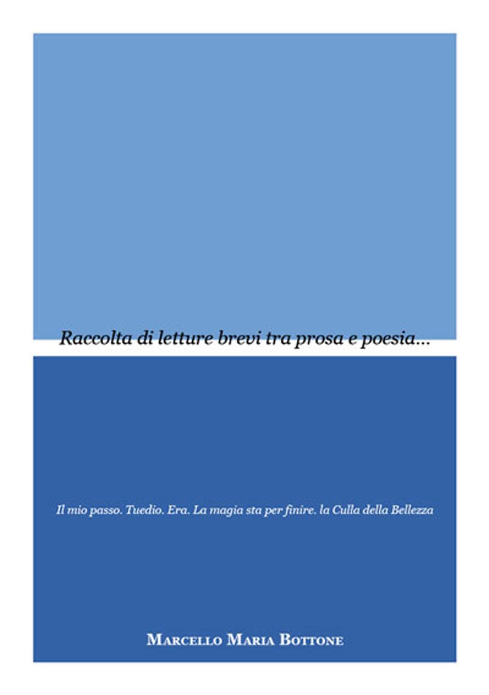 Raccolta di letture brevi tra prosa e poesia di Marcello Maria Bottone