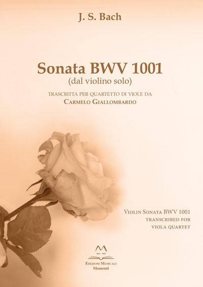 Sonata BWV 1001 di Carmelo Giallombardo