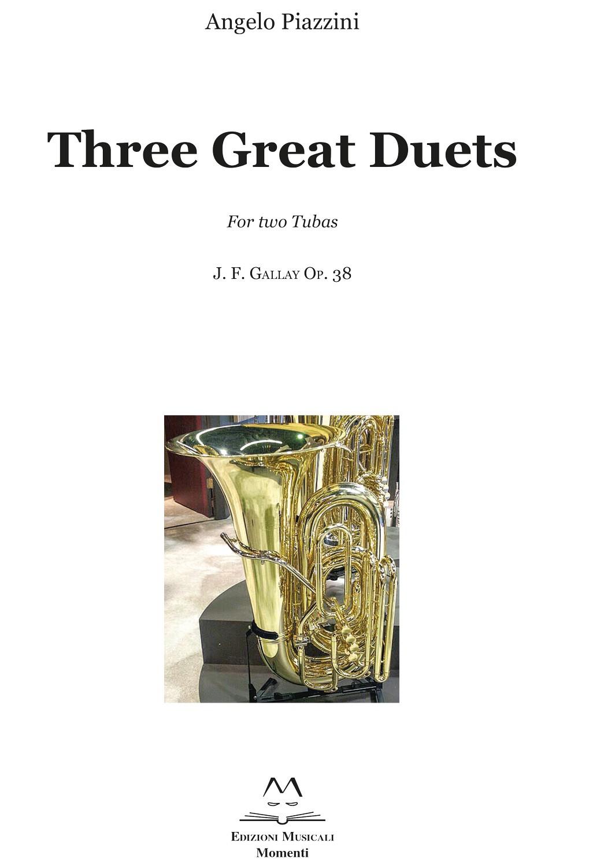 Three Great Duets di Angelo Piazzini