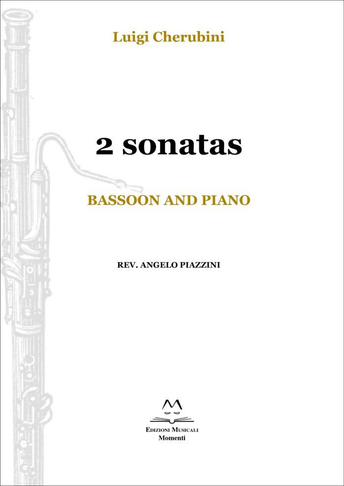 2 sonatas. Bassoon and piano rev. Angelo Piazzini