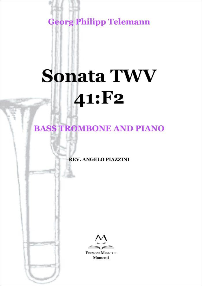 Sonata TWV 41:F2 - Bass trombone and piano rev. Angelo Piazzini