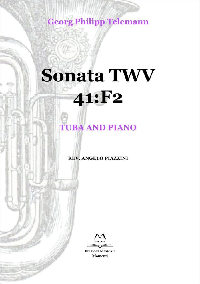 Sonata TWV 41:F2 - Tuba and piano rev. Angelo Piazzini
