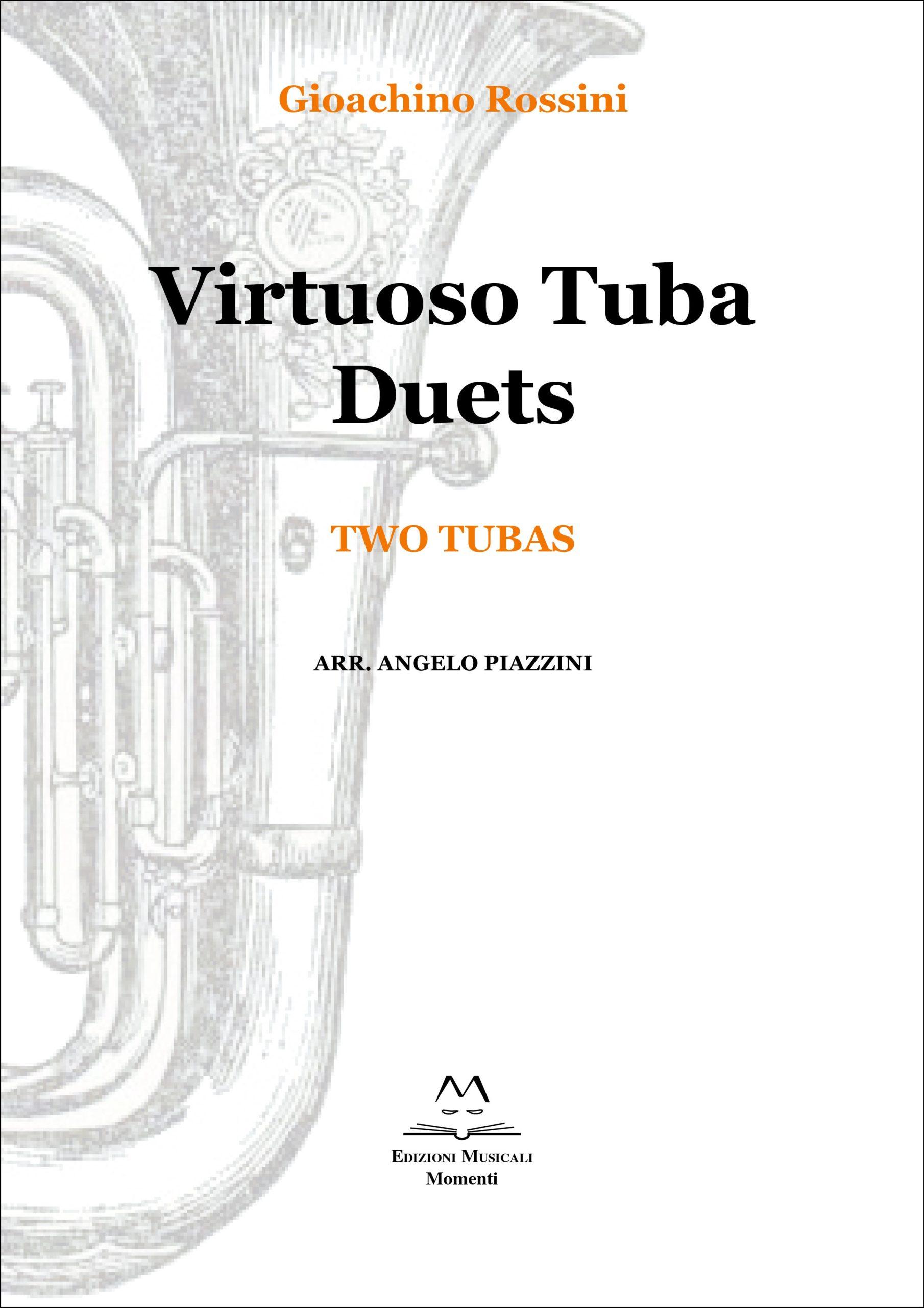 Virtuoso Tuba Duets - Two tubas arr. Angelo Piazzini
