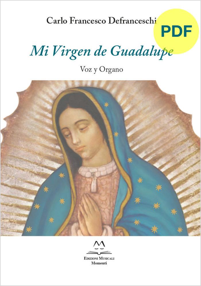 Mi Virgen de Guadalupe Voz Y Organo PDF